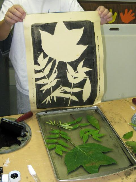 leafy prints