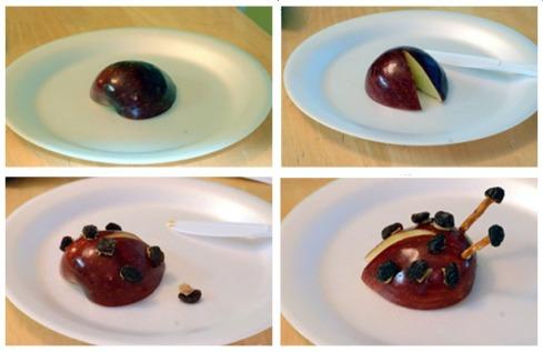 lady bug apple 2