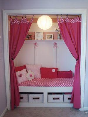 2 pink closet