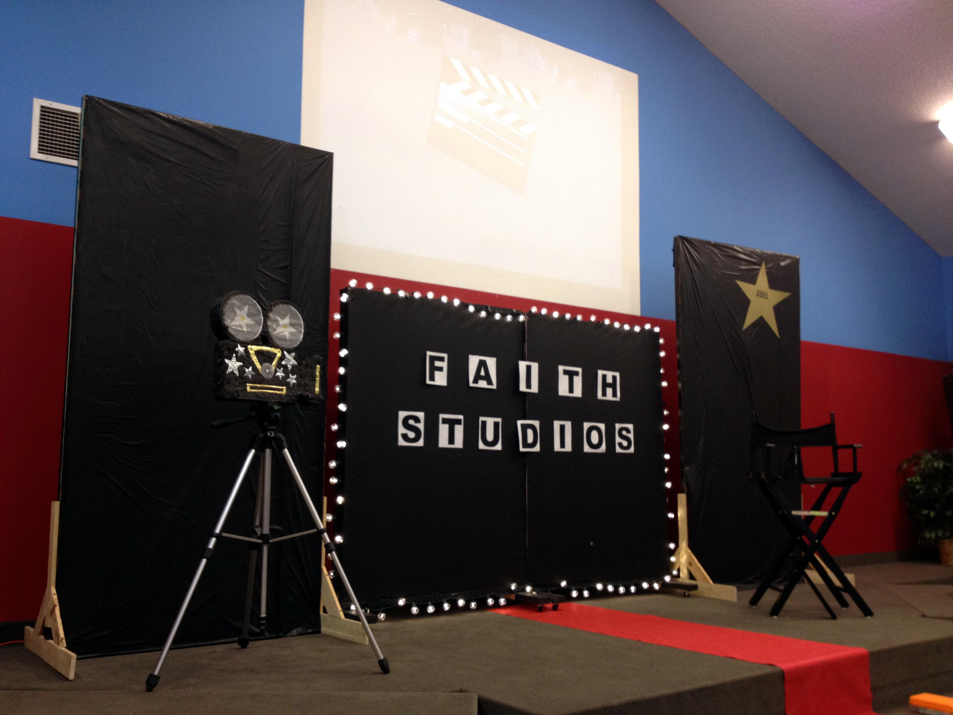 Decorating Movie Theater Theme