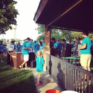 We raised almost $10,000 with our Walk4Water event building a well in Angola.