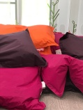 Fun colors for the pillows.
